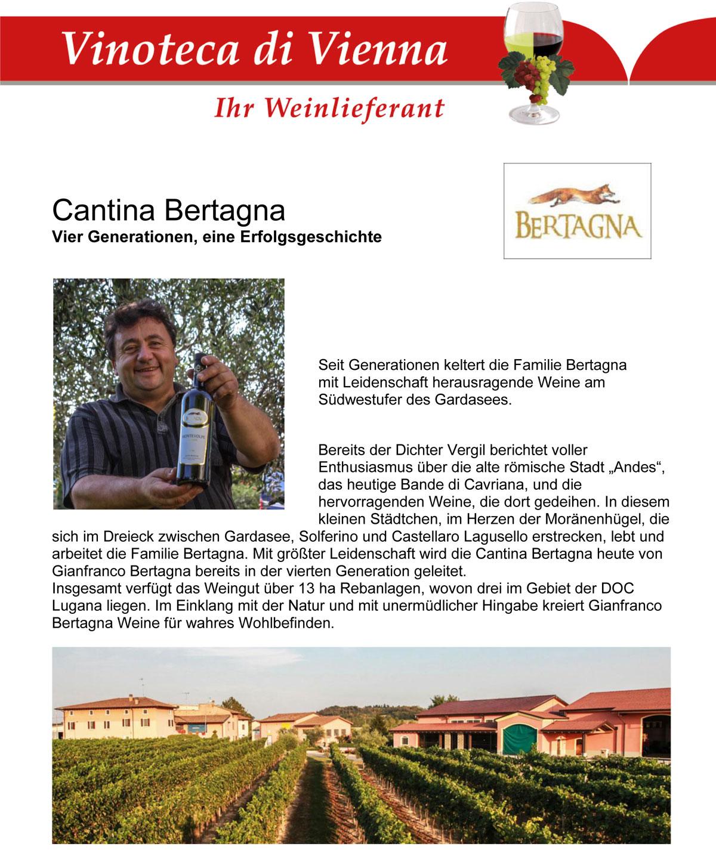 Cantina Bertagna, Vier Generationen, eine Erfolgsgeschichte