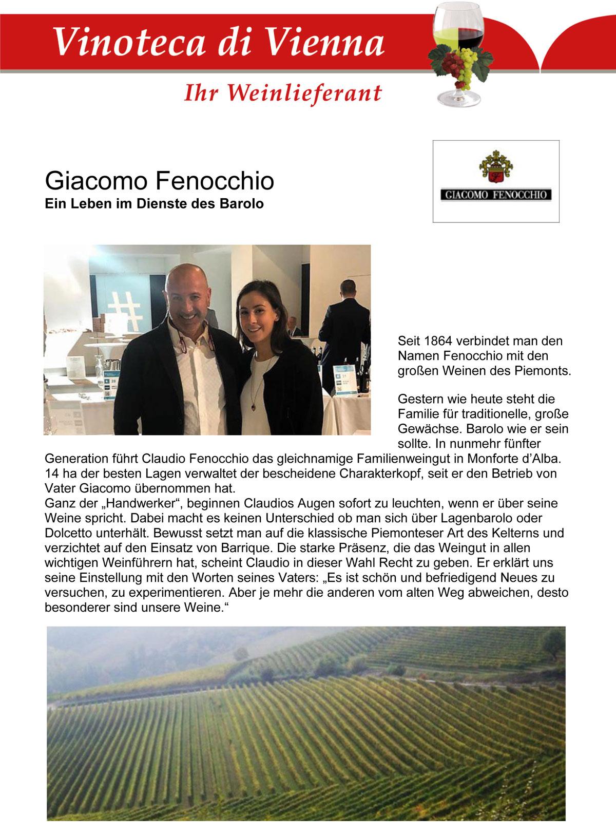 Giacomo Fenocchio, Italien, Piemont, Monforte d'Alba